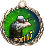 Shooting Award Medal