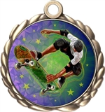 Skateboard Award Medal