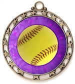 Softball Award Medal