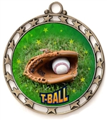 T-Ball Award Medal