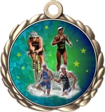 Triathlon Award Medal