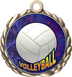 Volleyball Award Medal