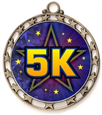 5K Run Award Medal