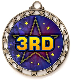 3rd Place Award Medal