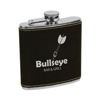 Laserable Leather Flask | Flask