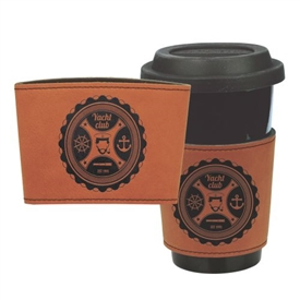 Leather Cup or Mug Beverage Holder