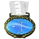 Archery Medal in Jam Oval Insert | Archery Award Medal