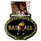 Baseball Medal in Jam Oval Insert | Baseball Award Medal