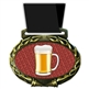 Beer Medal in Jam Oval Insert | Beer Award Medal