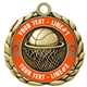 Basketball Medal 2-1/2""