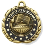 Perfect Attendance Medal 2-1/2""