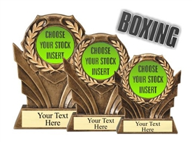 Boxing Resin Trophy