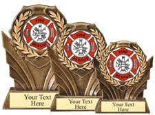 Fire Rescue Resin Trophy