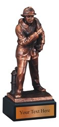 Firefighter Resin Award Trophy
