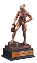 Weight Lifting Resin Award Trophy