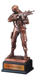 Army Resin Award Trophy