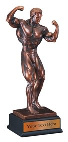 Body Builder Resin Award Trophy