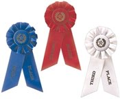 Stock Place Rosette Award Ribbons