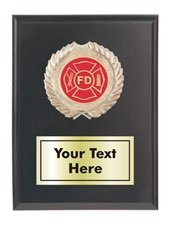 Fire Rescue Plaque