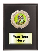 Motocross Plaque