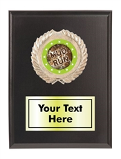 Mud Run Plaque