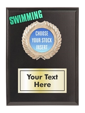 Swimming Plaque
