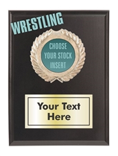 Wrestling Plaque