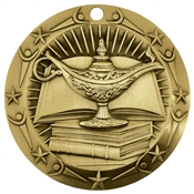 Lamp of Knowledge Medal | Knowledge Award Medals
