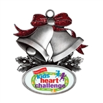 Customizable Bells Holiday Ornament
